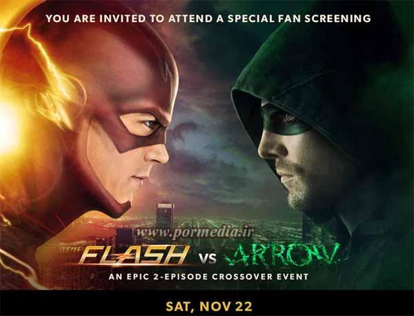 پوستر فصل چهارم سریال Arrow با کیفیت عالی